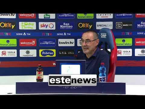 Cagliari-Juve 2-0, Sarri attacca la Lega: \