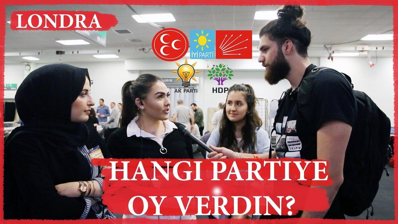 Londra'daki Türkler'e Sordum? Hangi Partiye Oy Vereceksiniz?