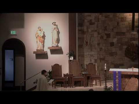 STREAMING Mass At Holy Name 3.19.2020