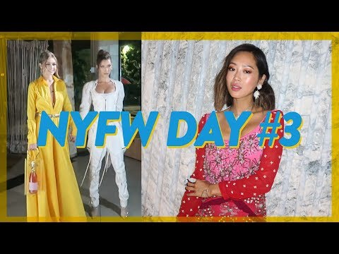 NYFW Day 3: Missing Shows, biggest trends, BoF 500 & Tibi  Vlog #63  Aimee Song