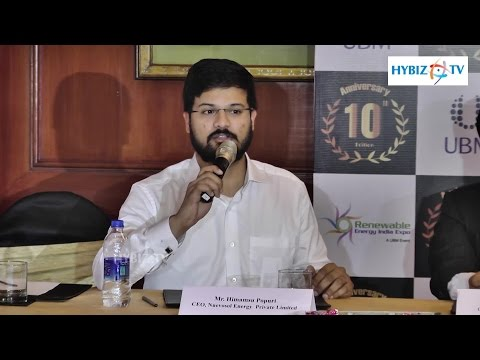 Himamsu Popuri - UBM Renewable Energy India Expo 2016 - hybiz
