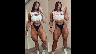 Kiki Vhyce Huge Legs And Incredible Glutes Female Muscle