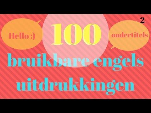 Engels leren met 100 eenvoudig Engels zinnen