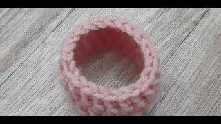 Как аккуратно закончить круговое вязание. Учимся вязать крючком.