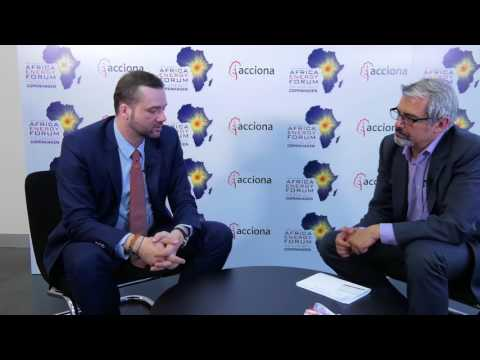 Africa Energy Forum 2017 - Interview with Martin Haupts, CEO of Phanes Group