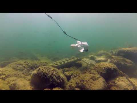 Underwater drone explores Michigan lake