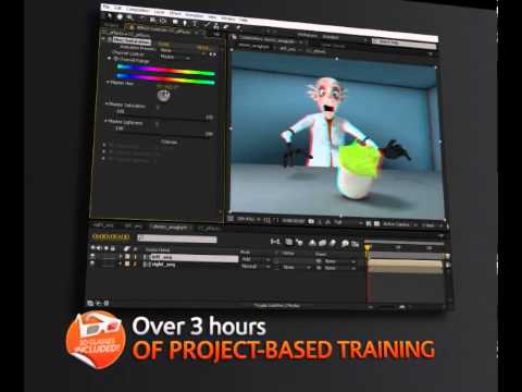 Digital Tutors - Stereoscopic 3D in After Effects (introduction video)
