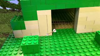 Lego Minecraft - Stop Motion Animation