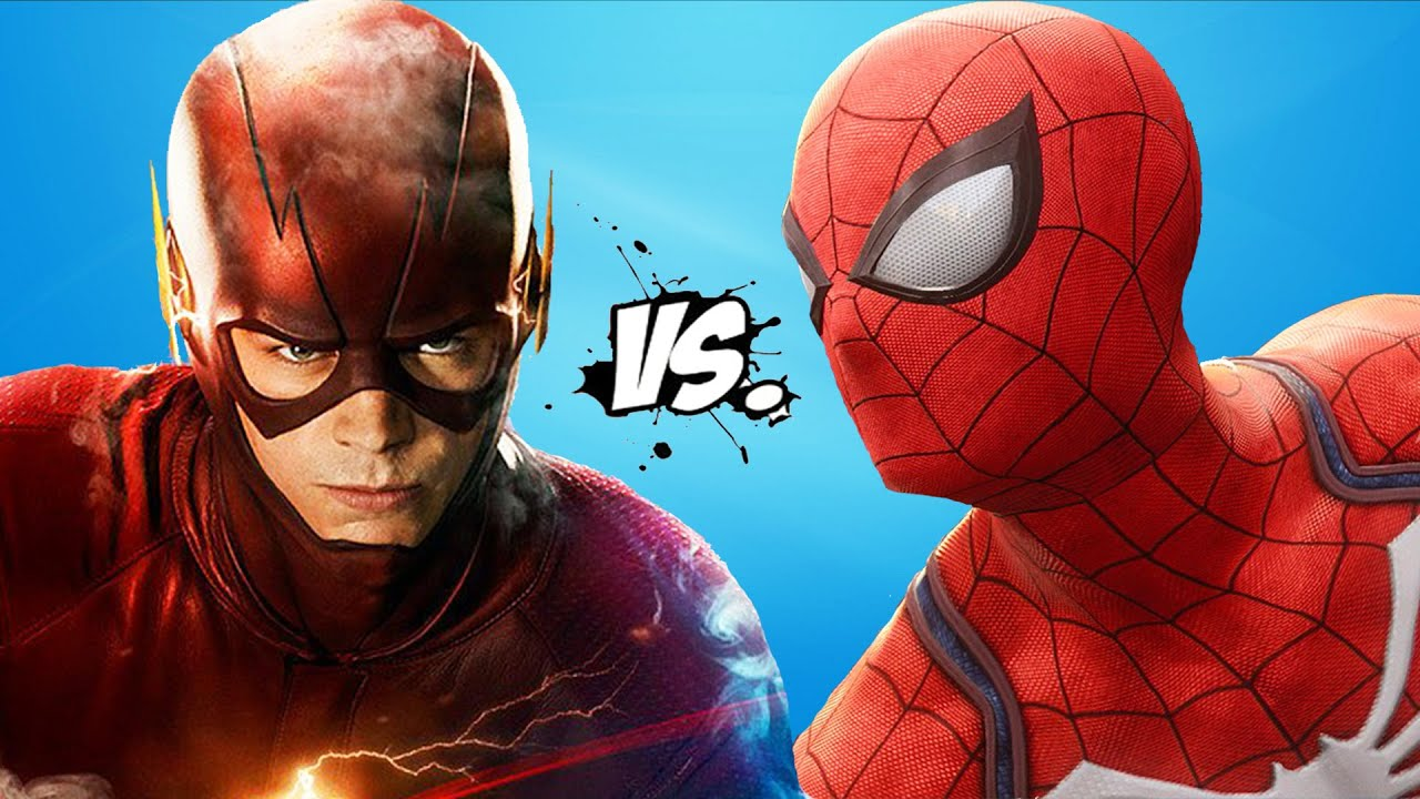 The Flash Vs Spiderman Epic Superheroes Battle Youtube