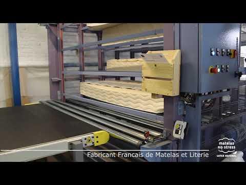 Fabricant Francais De Matelas Latex Lassemblage Youtube