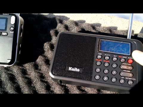 Kaito KA108 Radio Exterior de Espana 9690 kHz