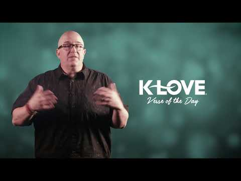 K-LOVE's Verse of the Day: I Peter 3:17