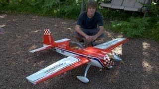 Patty Wagstaff Extra 300 RC Plane Maiden flight 2.10 Moki (Son Flying) 2012