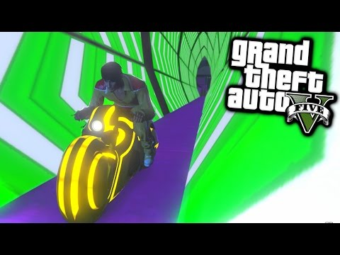 Thumbnail: TRON RACE! - GTA 5 Funny Moments #648