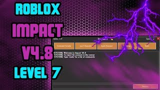 New Roblox Exploit: Impact │WORKING!│Level 7 Lua C Executor, 100+ commands, Morphs and More!