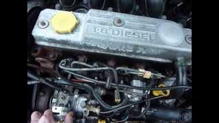 claquement moteur 1.8D Ford Fiesta