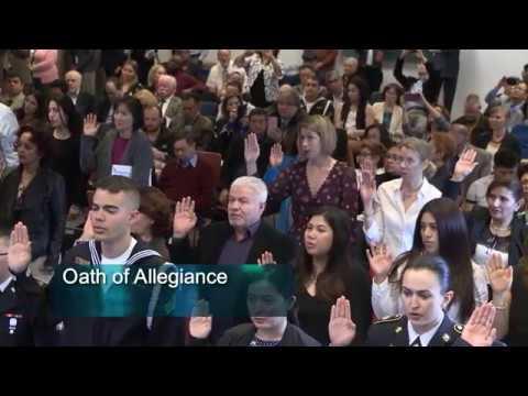 U.S. General Naturalization Ceremony