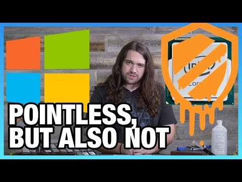 This Video is Pointless: Windows Patch Benchmarks