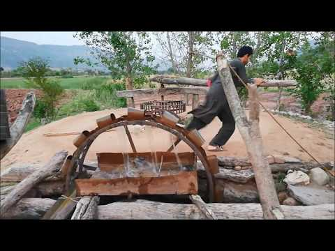 primitive technology | Farming Irrigation by Water Well