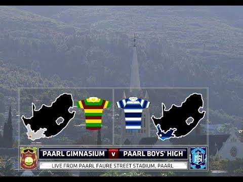 Paarl Gimnasium vs Paarl Boys High - 2nd half