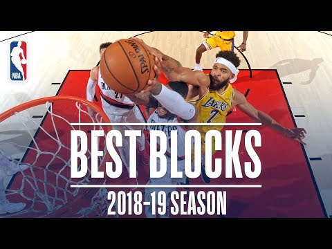JaVale McGee's Best Blocks | 2018-19 Season | #NBABlockWeek