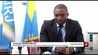 COMMENT SORTIR DE L'IMPASSE POLITIQUE? JOSEPH BANGAKYA REPOND