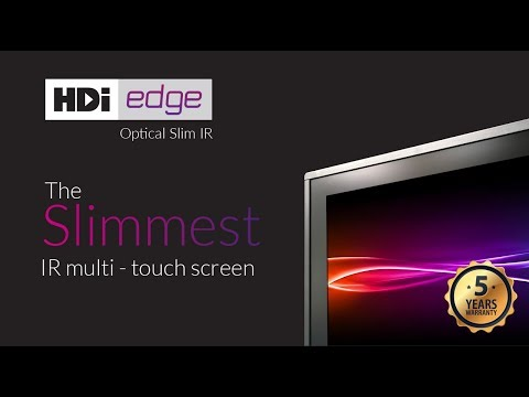 HDi edge - The Slimmest IR technology screen in Australia