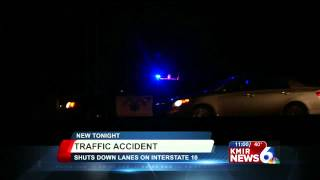 Major Traffic Accident on Interstate 10