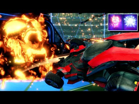 I GOT HELLFIRE & SUB ZERO | THE BEST BLACK MARKET GOAL EXPLOSIONS IN ROCKET LEAGUE