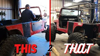 BUILDING a Roll Cage from SCRATCH!!