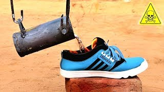 Molten Aluminium Metal VS Shoe | Will It Survive or Not?