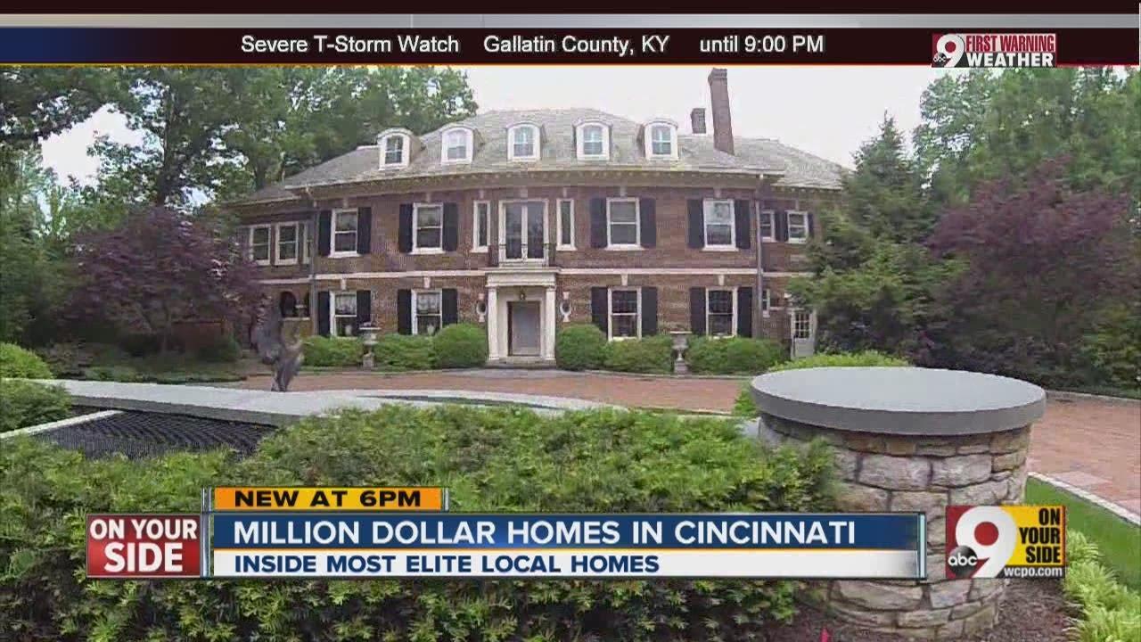 Million dollar homes in cincinnati youtube for Local house builders