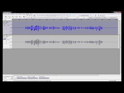 How to improve voice sound quality in post production - Audacity - How to make good videos - part 4