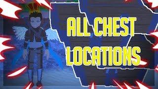 ALL CHEST LOCATIONS! | World//Zero | ROBLOX
