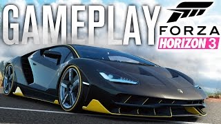 forza horizon 3 gameplay   lamborghini centenario race direct feed