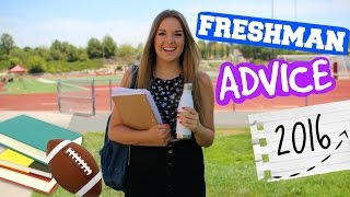 COLLEGE FRESHMAN ADVICE! Back to School 2016
