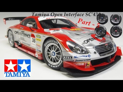 Tamiya Open interface SC'430 FR Part 5  - Les roues
