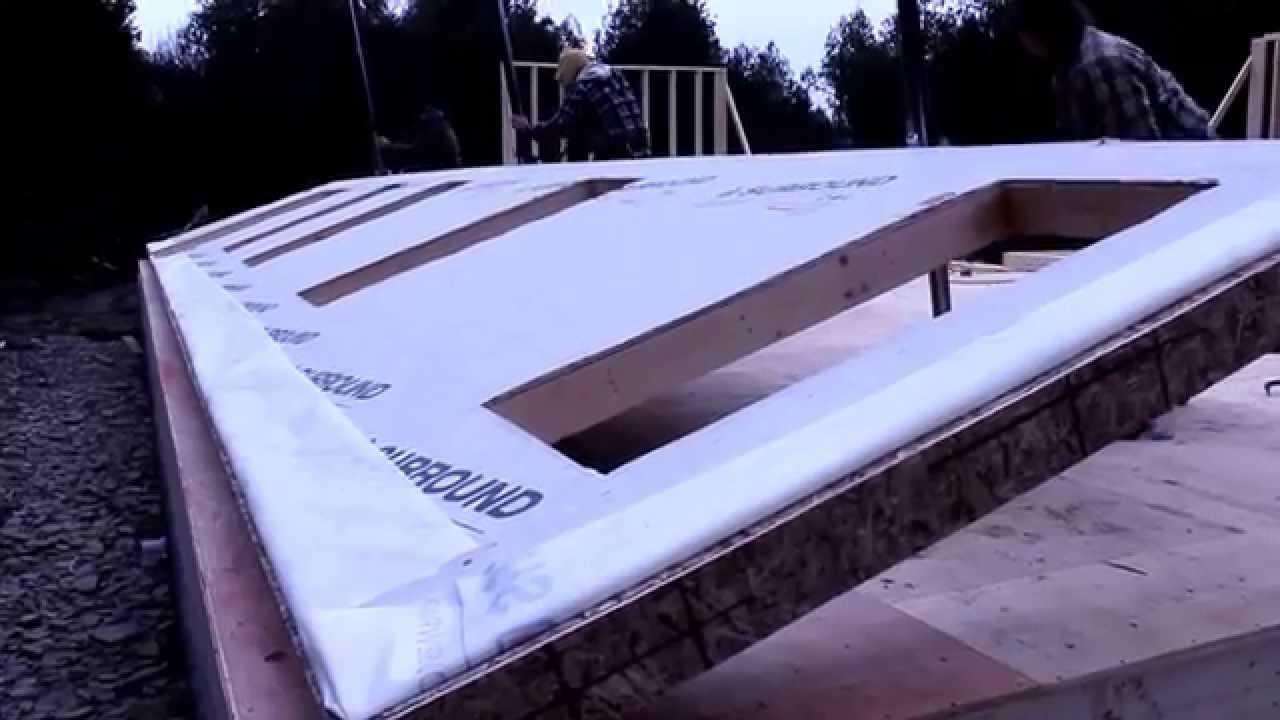 Wall Jacks For Framing proctor wall jacks lifting 45' wall - youtube