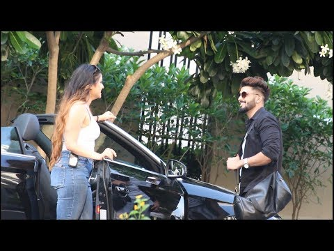 Picking Up Handsome Boys In Audi || Bhawna Walia