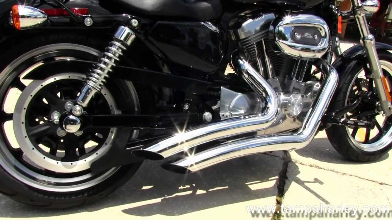 Used 2011 Harley-Davidson XL883L Sportster Superlow with Vance ...