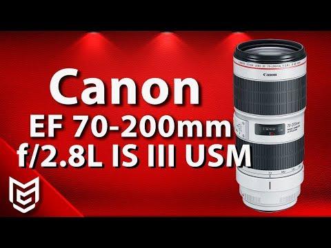 Canon EF 70-200mm f/2.8L IS III USM Hands On Review 📸 Mert Gündoğdu