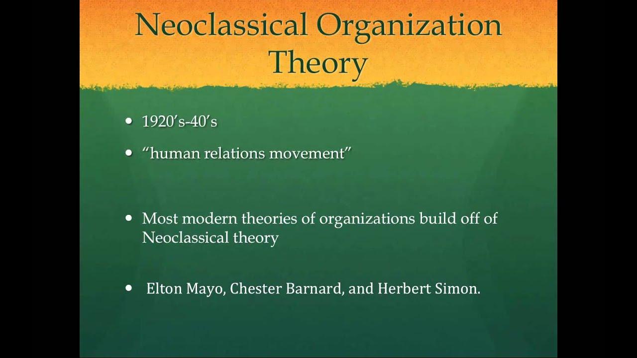 classical organization theory henri fayol
