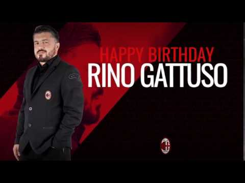 Happy birthday coach Gattuso!