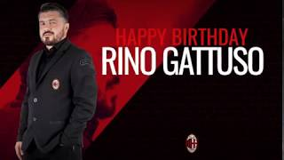 Happy birthday coach Gattuso!