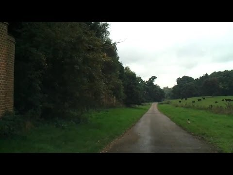 Driving in the UK - Windsor to Ascot Racecourse