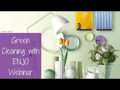 Chemical Free Cleaning with ENJO