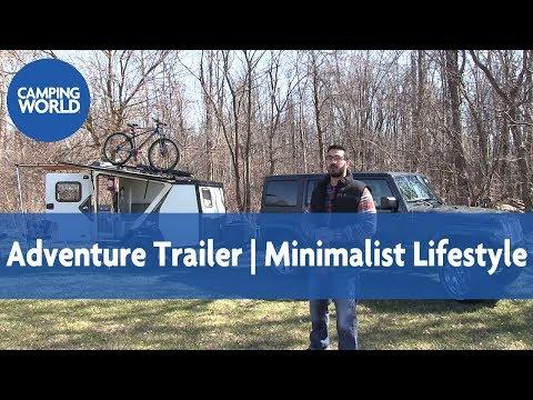 2017 Taxa TigerMoth Trek    Adventure Trailer - RV Review