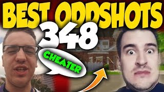 Cheater shoots through the wall to LEHa!!! #348 Best Oddshoty-IZAK & LEH-FORTNITE