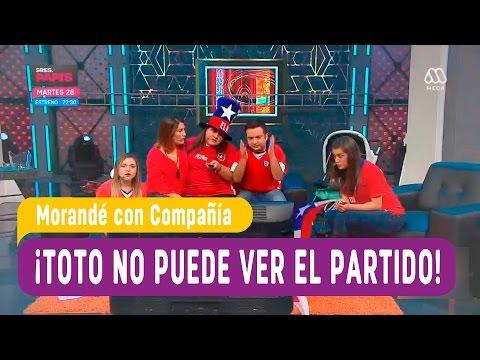 Toto nos muestra lo difícil que es ver un partido con mujeres - Morandé con Compañía 2016