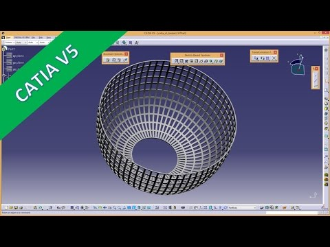 Userwish - Plastik Korb - plastic basket - Catia v5 Training - GSD